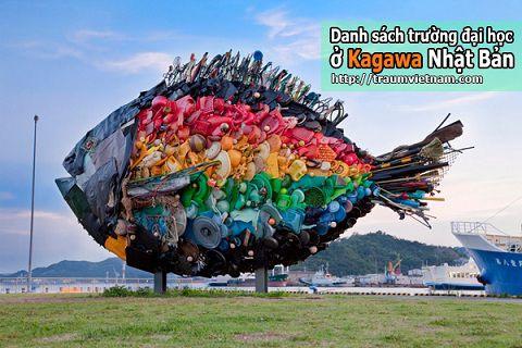 Danh sách các trường đại học ở Kagawa Nhật Bản