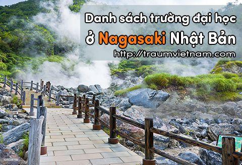 Danh sách các trường đại học ở Nagasaki Nhật Bản