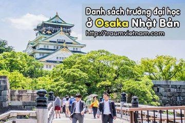 Danh sách các trường đại học ở Osaka Nhật Bản