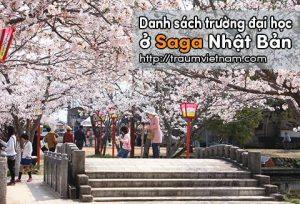 Danh sách các trường đại học ở Saga Nhật Bản