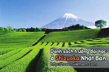 Danh sách các trường đại học ở Shizuoka Nhật Bản