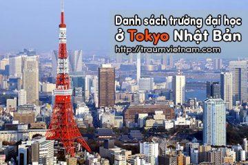 Danh sách các trường đại học ở Tokyo Nhật Bản