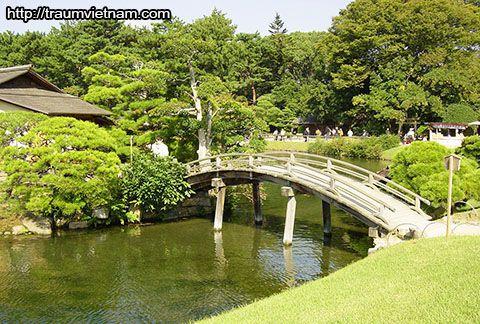 Vườn Omotegoten - tỉnh Tokushima Nhật Bản