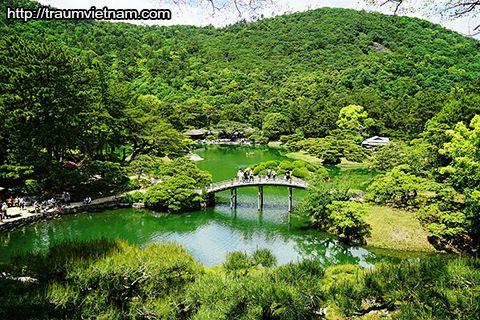 Vườn Ritsurin- nơi đáng để ghé thăm