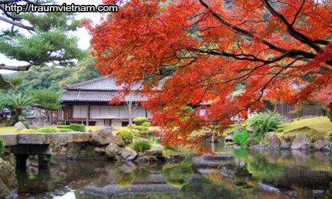 Vườn Sengan - danh thắng của tỉnh Kagoshima Nhật Bản