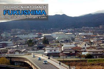 Du học ở Fukushima Nhật Bản – vùng đất hồi sinh