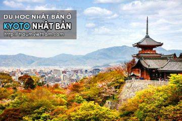 Du học ở Kyoto Nhật Bản – cố đô cổ kính của xứ phù tang