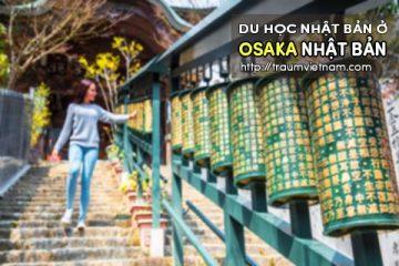 Du học ở Osaka Nhật Bản – thủ đô ăn uống