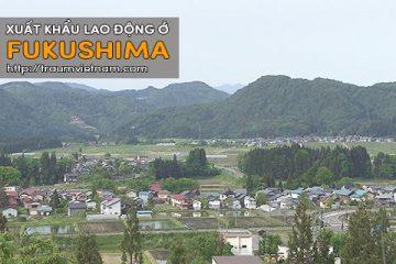 Xuất khẩu lao động ở Fukushima Nhật Bản – Phí rẻ