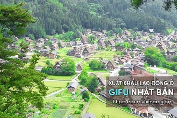 Xuất khẩu lao động ở Gifu Nhật Bản – Bộ LĐTB&XH