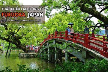 Xuất khẩu lao động ở Fukuoka Nhật Bản – Lương cao