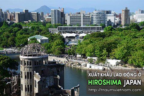 Xuất khẩu lao động ở Hiroshima Nhật Bản - làm thêm nhiều